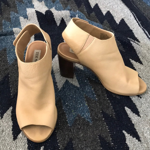 551b0e6fb05 Steve Madden Nonstp Chunky Tan Mule in 7.5